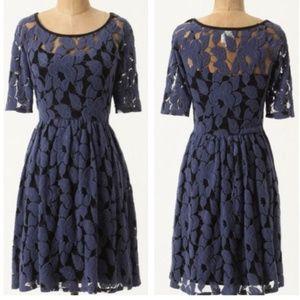 Rare 2011 Anthropologie Unconditional Osier Dress